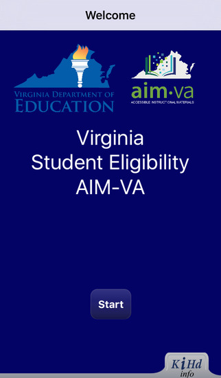 AIM-VA Eligibility App - iOS Version - Image1