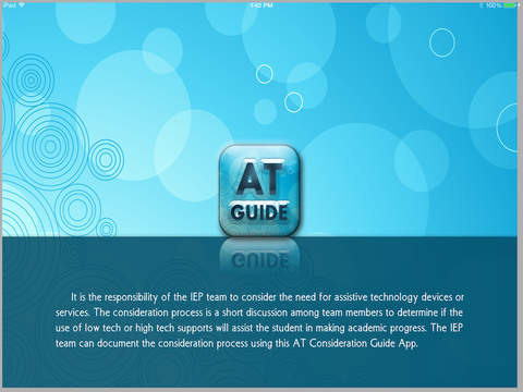 AT Consideration Guide App - iOS Version - Image1