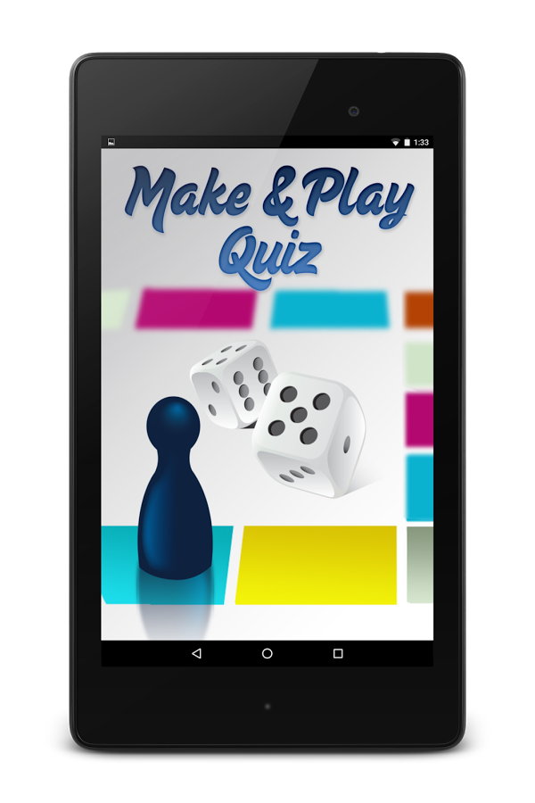 Make And Play Quiz - Android Version - Image1